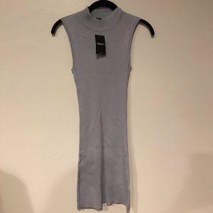 Dusty lavender forever 21 turtleneck dress
